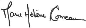 Marie-Hélène Comeau (Signature)